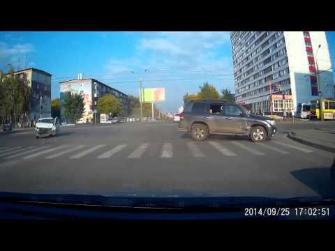 Авария в Барнауле 25 09 2014