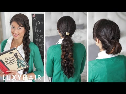 Back to School Hairstyles -Zc4fhFssVzQ