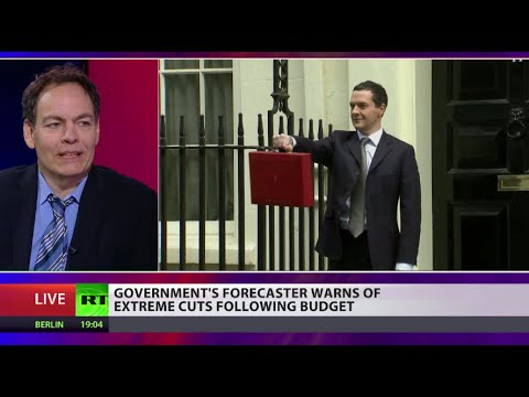 Max Keiser on UK Budget: Osborne on track to increase (UK) debt by 100%