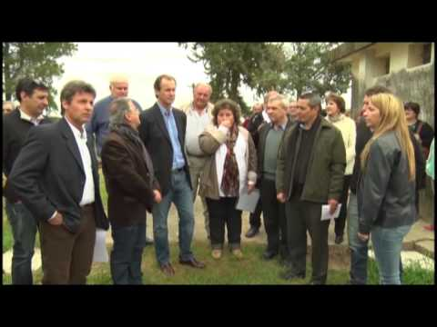 <b>Juntas de gobierno. </b>Bordet visit� distritos de Cambiemos.