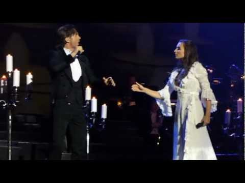 Peter Jöback/Katy Treharne - Phantom of the opera/Music of the night Malmö 2012-11-10