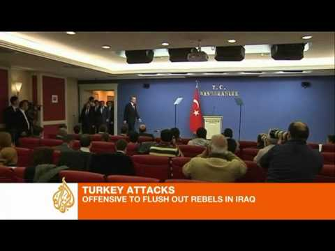Turkey-s retaliation to PKK crosses Iraq border