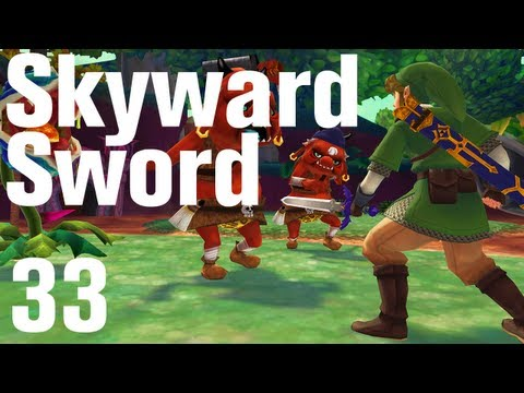 Zelda: Skyward Sword Walkthrough Part 33 - Eldin Volcano