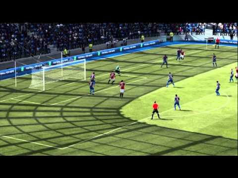 FIFA 12 Xbox 360 Gameplay - Barcelona vs. Milan (Also On PS3, Wii)