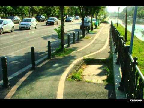 VIDEOCLIP Cu bicicleta prin Bucuresti, pe pistele pentru biciclete (II)