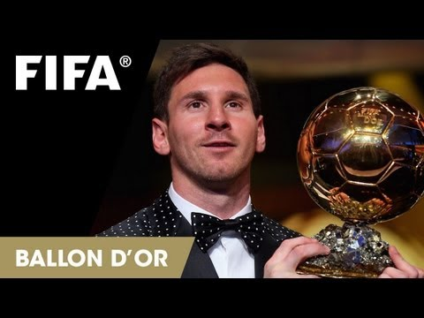 Messi on winning the FIFA Ballon d'Or (Spanish)
