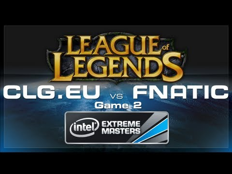 LoL Gamescom - CLGeu vs Fnatic Game 2 - European Regionals
