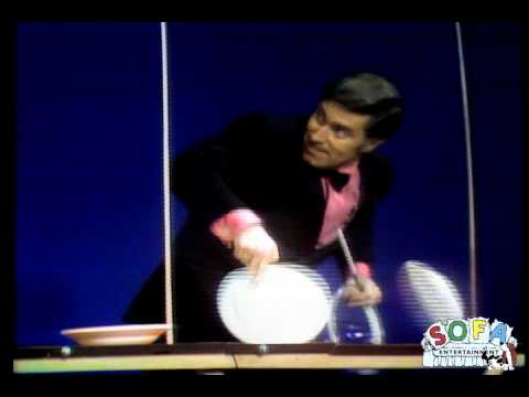 Erich Brenn Plate Spinning on The Ed Sullivan Show
