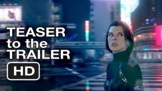 Resident Evil Retribution 3D - Teaser to Trailer 2 - Milla Jovovich, Paul WS Andersen (2012) HD