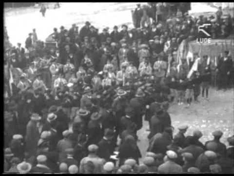 Giornata di propaganda a Vico del Gargano per il plebiscito - 1929