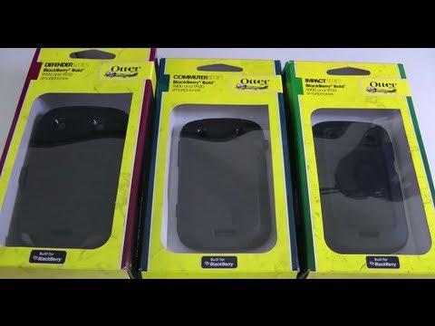 Otterbox Case Group Test for Blackberry Bold 9900 9930 - Defender Commuter & Impact - UCfbrK3c1afSF0EC1NAUXZLA