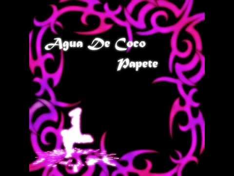 Agua De Coco by Papete