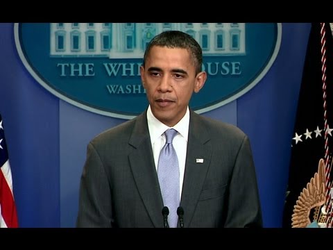 President Obama Delivers a Statement on Deficit Agreement
