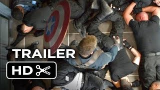 Captain America: The Winter Soldier Official Trailer (2014) - Marvel Superhero Movie HD