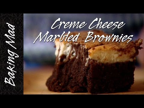 Baking Mad Monday: Cream Cheese Marbled Brownies