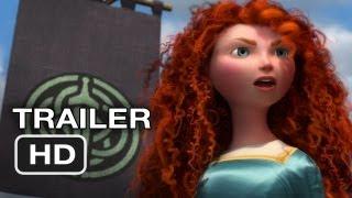 Brave Official Trailer #2 - New Pixar Movie (2012) HD