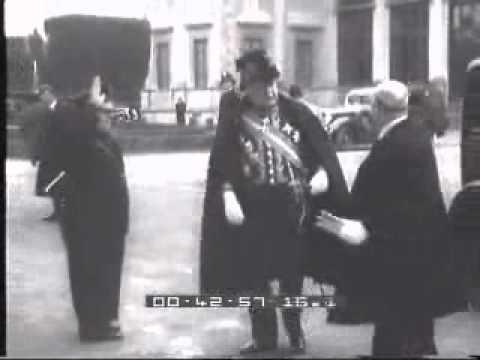 Il centenario della morte di Giacomo Leopardi, Roma - 24/03/1937