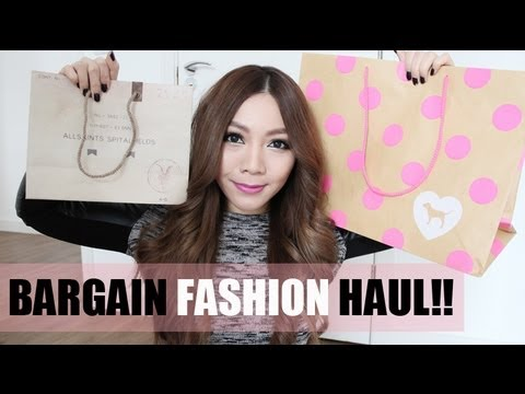 Bargain January Fashion Haul! ZARA, Victoria Secret, H&M, All Saints etc....