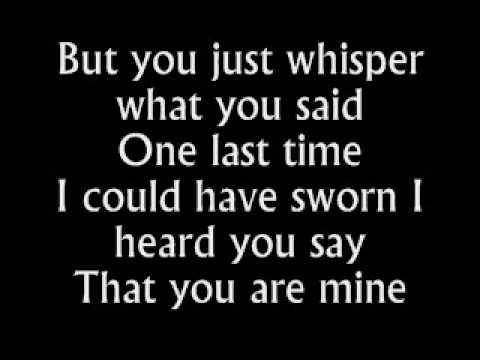 The Fray - Be The One - Lyrics