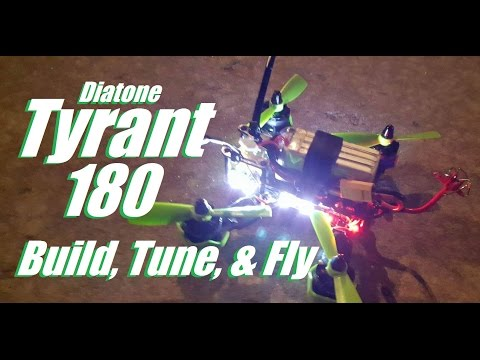Diatone Tyrant 180 Full Review, Tuning, Build Tips, and LOS Flying - UC92HE5A7DJtnjUe_JYoRypQ