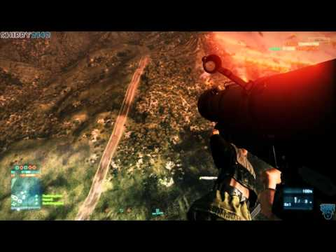Battlefield 3 - Anti Air Stinger Sky Diving Trololol AA Soldier BF3 Gameplay by Shibby2142