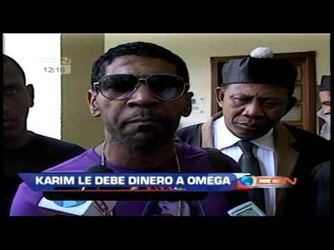 "Omega amenaza someter a Karim por ""deuda de 75 mil dólares"""