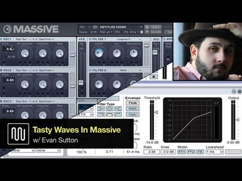 Sound Design Tutorial w/ Native Instruments' Massive: Tasty Bass Waves