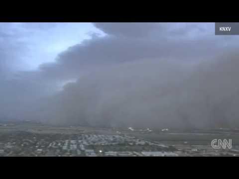 UFO-s in Haboob/Dust Cloud-Mesa, Arizona July 6, 2011