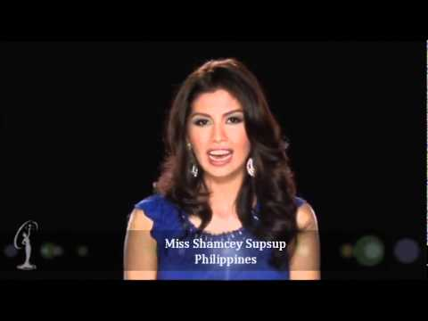 Miss Shamcey Supsup - Miss Universe 3rd runner-up 2011 Sao Paolo Brazil