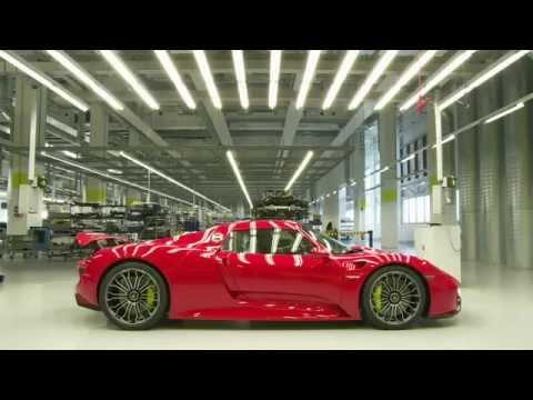 Porsche 918 Spyder: Hochtechnologie in Handarbeit
