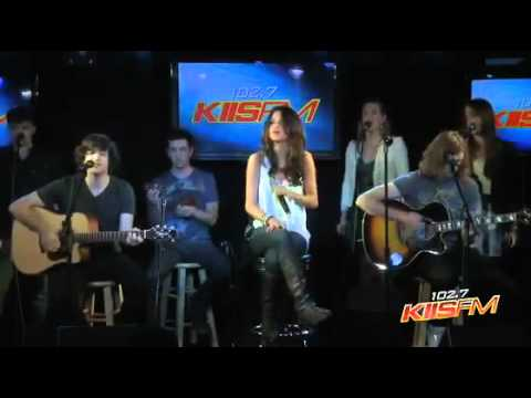 Selena Gomez   Naturally Acoustic (Live on Kiis FM 102,7)