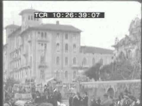 Il carnevale di Viareggio nel 1927