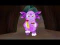 Фрагмент с конца видео Лунтик и его друзья - 154 серия. Чего хотят гусеницы