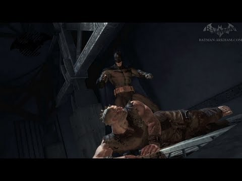Batman: Arkham Asylum Walkthrough - Chapter 2 - The Gas Room