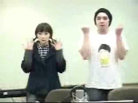 090128 Chin Chin - Kangin & Taeyeon dancing to Gee
