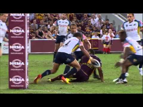 NRL 2012 Round 2 Highlights: Broncos V Cowboys