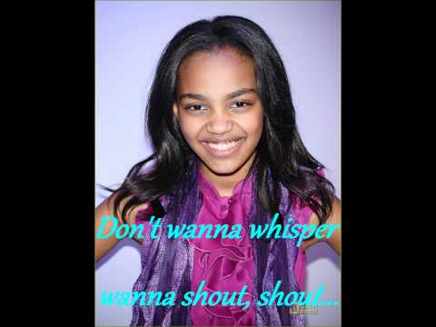 China Anne McClain - Unstoppable(FULL SONG, LYRICS ON SCREEN)
