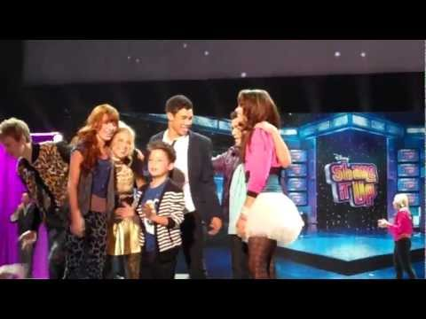 Zendaya, Bella Thorne and Cast of Shake It Up (SIU) Perform Dance Live At D23 Expo 2011