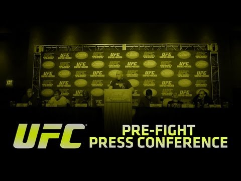 UFC 155: Dos Santos vs Velasquez II Pre-fight Press Conference
