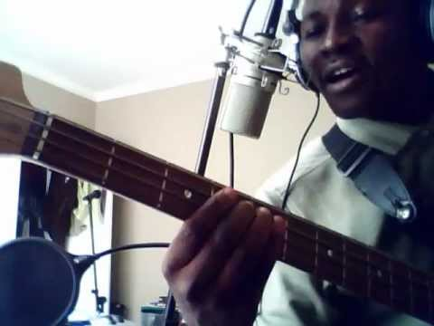 Bass cover & tutorial by David Oke (AGS) - Siyabonga Jesu by Solly solly mahlangu