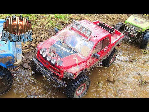 RC ADVENTURES - WET & WiLD TANK TRAP - RUDE BOYZ RC TTC 2017 (PT 6) SCALE TOUGH TRUCK CHALLENGE - UCxcjVHL-2o3D6Q9esu05a1Q