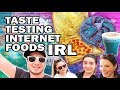 Eating Internet Foods ft. SimplyNailogical and SafiyaNygaard