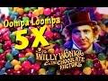 5cent - Willy Wonka - *SUPER BIG WIN* - Ooompa Loompa - Slot Machine Bonus