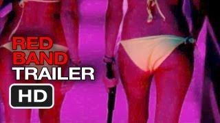 Spring Breakers Official US Red Band Trailer (2013) - James Franco Movie HD
