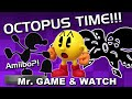 Mr. Game and Watch Amiibo?! OCTOPUS TIME!!! (Super Smash Bros. 3DS / Wii U) Rob Requests / Reaction