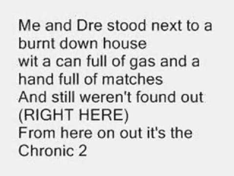 forgot about dre(lyrics)- dr. dre ft eminem