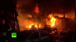 В Бангладеш более 80 человек погибли в результате пожара в жилом доме (21.02.2019 10:59)