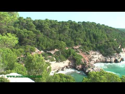"""Espectaculares calas vírgenes de Menorca """"Cala Mitjana y Mitjaneta"""" (virgin caves in Menorca)"""