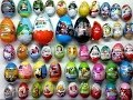 50 Surprise Eggs Kinder Surprise Maxi Plastic Eggs Disney Zaini Spiderman Planes Zhu Zhu Pets