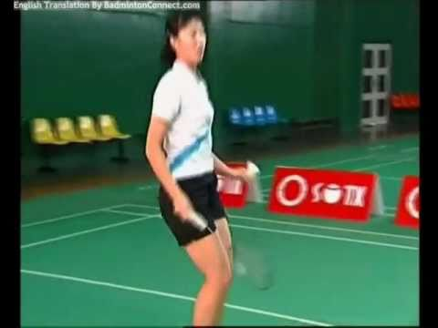 33 Chen Weihua Badminton Training - Drop-Smash and Net Rush Badminton Drill (English Subtitles)
